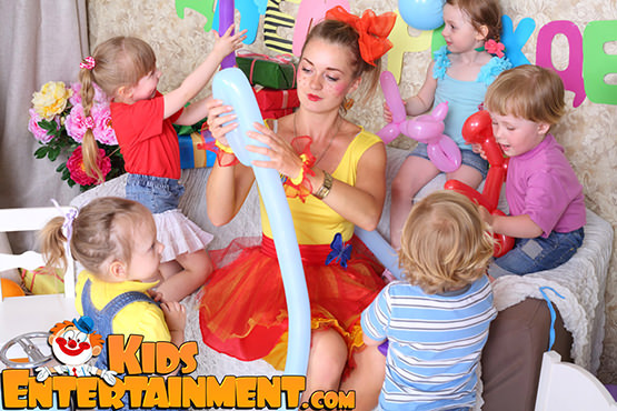 new york kids entertainment magicians clowns characters bounces